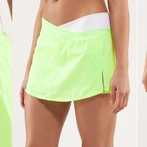 Lululemon Run Pace Skirt Size 8